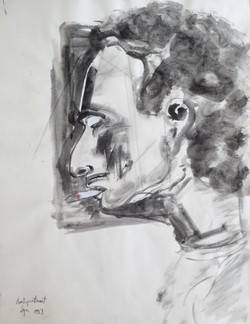 Ilya Grinberg, Autoportrait
