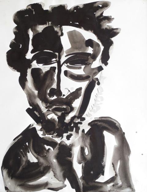 Ilya Grinberg - Autoportrait