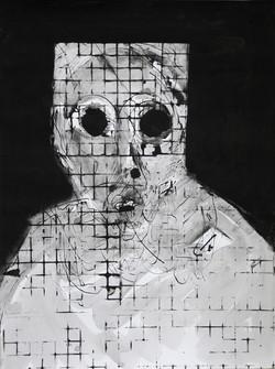 Ilya Grinberg, Angoisse au carré, 2020.