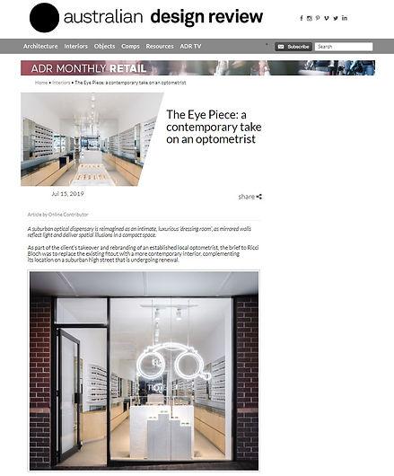 Australian Design Review Article