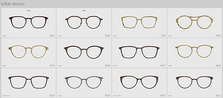 LINDBERG, Buffalo horn, glasses, shapes, eyewear, spectaces