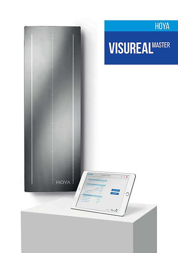 HOYA Visureal Master, expert optical dispensing