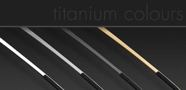 LINDBERG, titanium temples, colours
