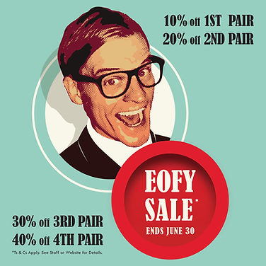 EOFY Sale, Glasses sale, sunglass sale