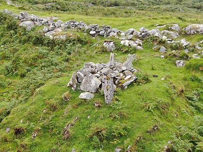 Ancient stone coffin