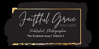 Faithful Grace Magazine - Published Photographer