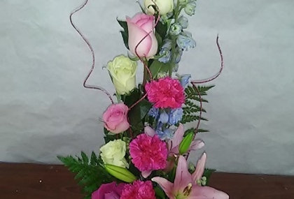 Sweet flowers unique design.