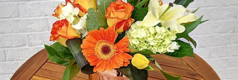 Bright Morning Flowers