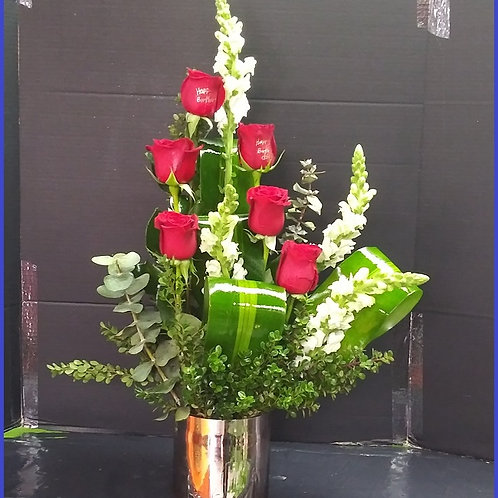Expressions of love, mother's day flowers design.