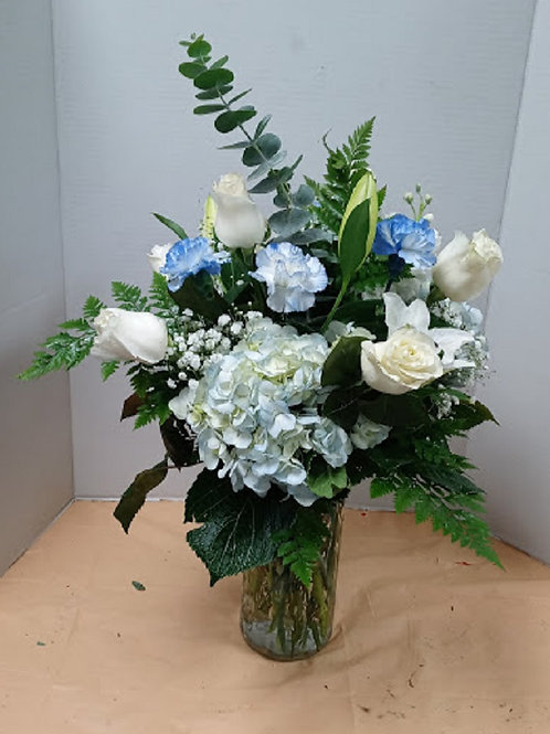 White and beautiful fresh flowers