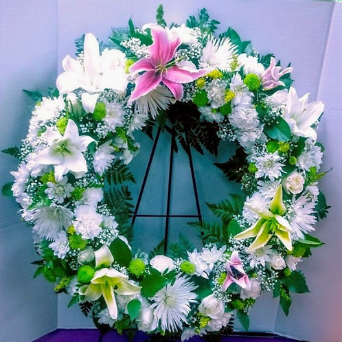 Precious Crown flowers Online Dallas, crown with Beautiful flowers
