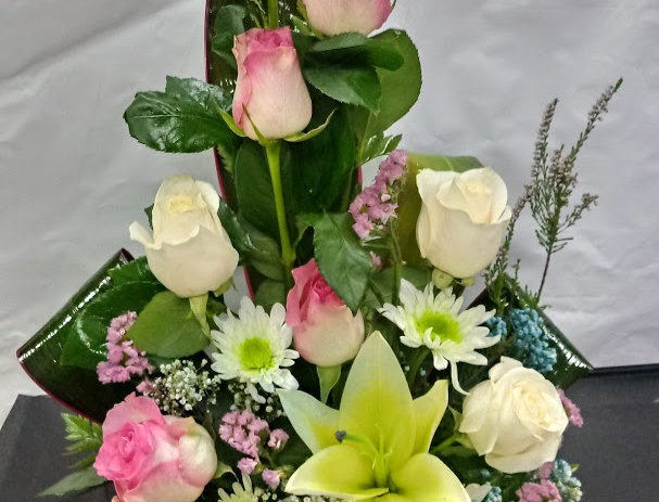baby girl, flowers for a new baby girl.