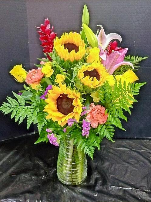 Glad flowers