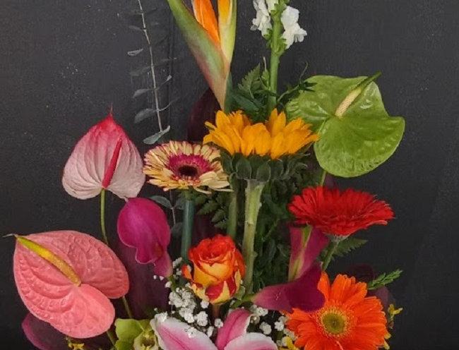 Designer tropical choice flowers