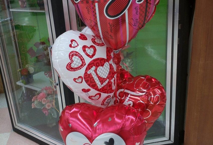 4 Balloons.
