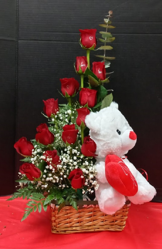 What is the meaning of the red Roses.