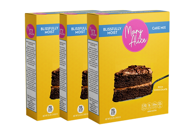 PRE-SALE - Three-Pack Bundle - Rich Chocolate Cake Mix