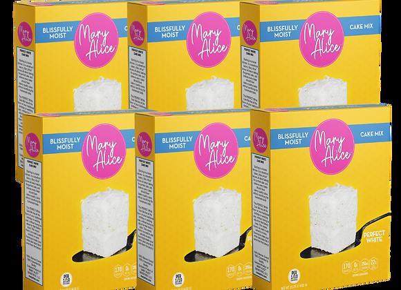 Six-Pack Bundle - Perfect White Cake Mix
