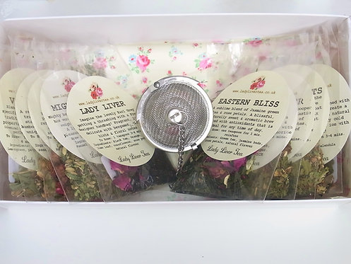 Tiny Tasters Hamper Tea Box (10)