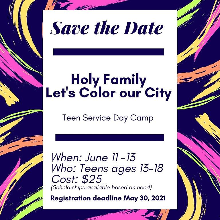 Let's Color Our City  Service Camp
