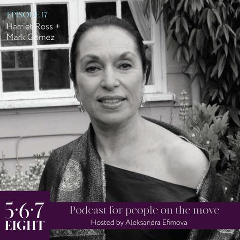 Episode 17 - Harriet Ross + Mark Gomez