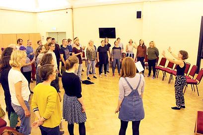 Unitarian Meeting Hall - Choir