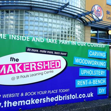 Makershed banner