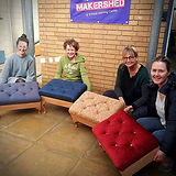 Upholstery at the Makershed