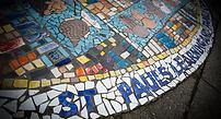 St Paul's Learning Centre mural