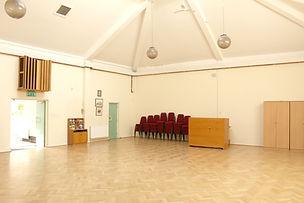 Unitarian Meeting Hall - Empty