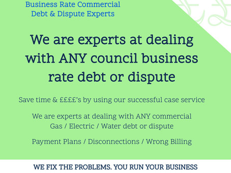 Manchester Council business rates section are bloody useless.