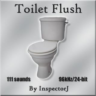 "New SFX Library: ""Toilet Flush"""