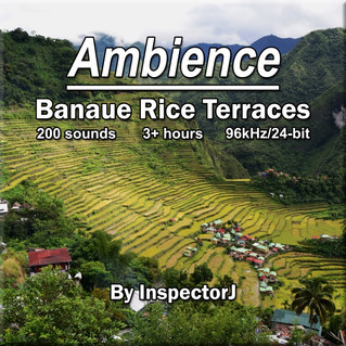 "New SFX Library: ""Ambience - Banaue Rice Terraces"""