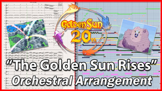 """The Golden Sun Rises""   Golden Sun   #GoldenSun20"