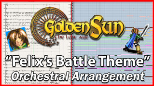 Felix's Battle Theme | Golden Sun | Orchestral Arrangement