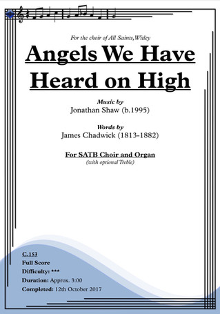 """New Anthem! - """"Angels We Have Heard on High"""" (2017)"""
