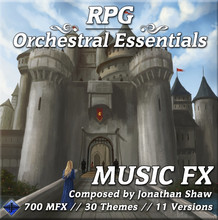 New Library: RPG Orchestral Essentials (Music FX)