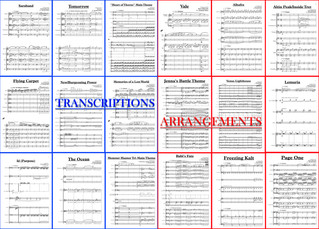 Transcriptions and Arrangements!