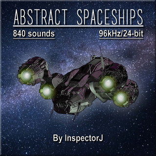 "New SFX Library: ""Abstract Spaceships"""