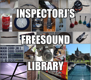 "1000 sounds - ""InspectorJ's Freesound Library"" Updated!"