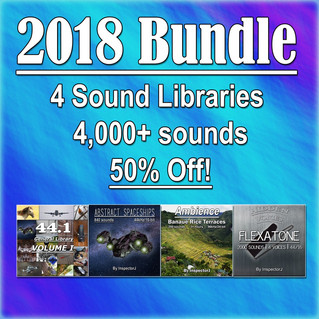 "New SFX Bundle: ""2018 Bundle"""