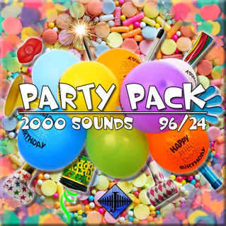 "New SFX Library: ""Party Pack"" and June Flash Sale!"