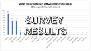 """Composing with Music Notation Software"" (Survey Results)"