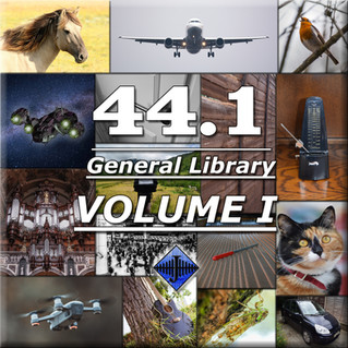 """New SFX Library: """"44.1 General Library (Volume I)"""""""
