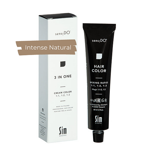 3 in ONE Creme Color - INTENSIVE NATURAL