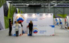 Оформление рекламной стойки для Пермской ярмарки