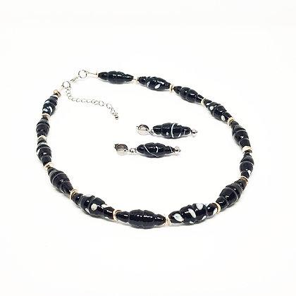 Black & White - halsketting