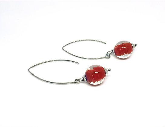 Red - oorbellen