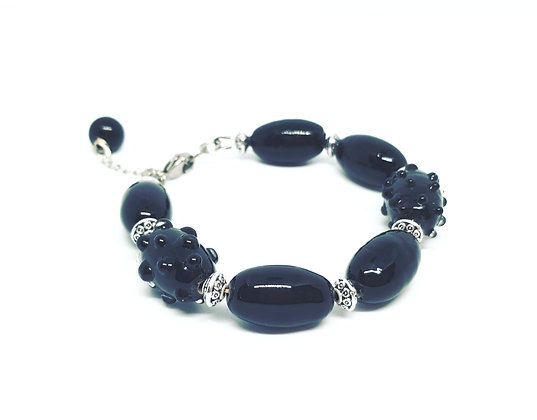 Black - armband