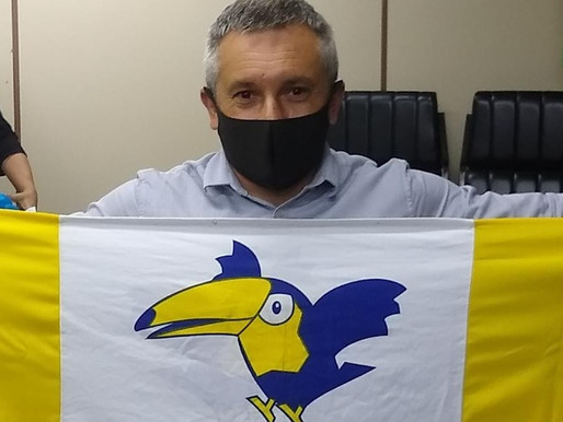 Marcus Aguiar é o candidato a prefeito do PSDB